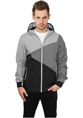 Zig Zag Windrunner Black/Grey/Grey