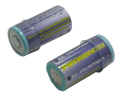 Akku (Li-Ion-3V) für Digitalcameras Canon, Kyocera, Panasonic, Konica-Minolta, Nikon als Ersatz für CR123A, 123, CR123R, L123A, DL123A