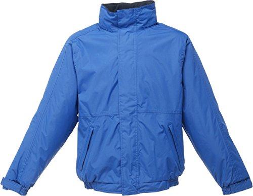 Regatta Dover Veste pour homme en tissu de Polyester épaisse d'hiver coupe-vent pour homme Bleu