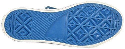Wrangler Starry Low, Baskets Basses garçon Bleu - Blau (384 LT. BLUE JEANS)