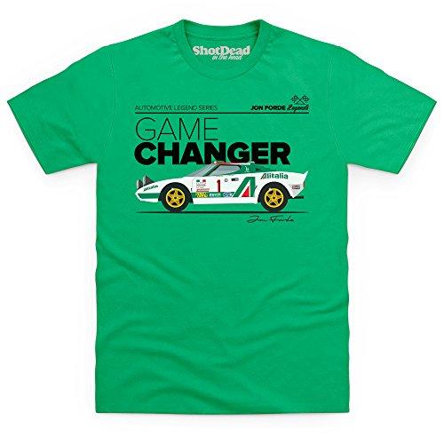 Jon Forde Game Changer T-Shirt, Herren Keltisch-Grn