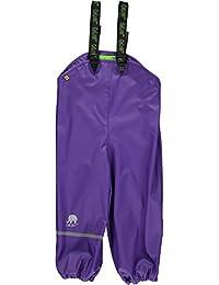 CELAVI Mädchen Regenhose Rainwear Pants-Solid