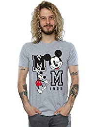 Disney Men's Mickey Mouse Jump and Wink T-Shirt