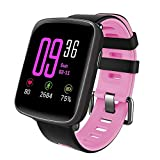YAMAY Smart Watches,Waterproof IP68 Smartwatch Fitness Watch Running Watch with Heart Rate Monitor