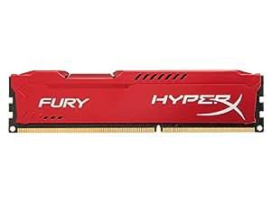 Kingston HyperX Fury HX313C9FR/8 Arbeitsspeicher 8GB (1333MHz, CL9) DDR3-RAM rot