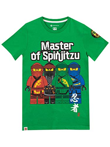 Lego Ninjago Jungen Ninja Go T-Shirt 122