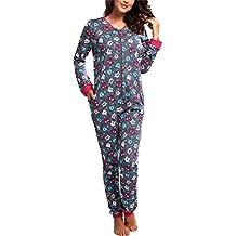 Cornette Pijama Entero para Mujer CR-107