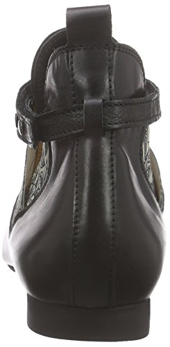Think Guad Ankle Damen Chelsea Boots Schwarz (SZ/KOMBI 09)