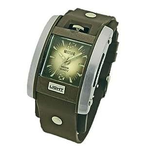 Mustang Time - 4601501 - Montre Homme - Quartz - Bracelet Plastique Marron