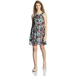 Vero Moda Women's A-Line Dress (10161448_Black_L)