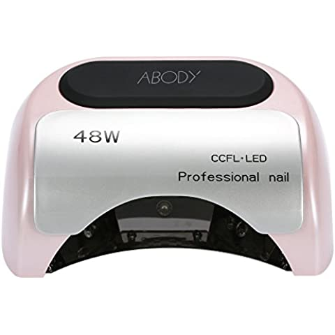 Anself Lampada UV 110-220V 48W professionale CCFL + LED salone di bellezza del chiodo con timer automatico induzione Impostazione