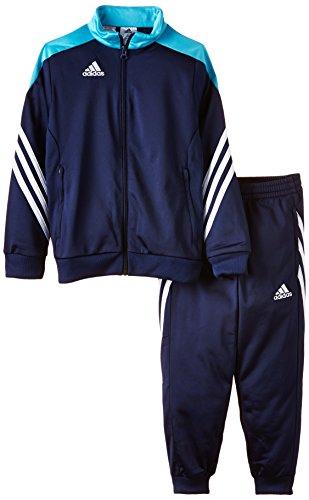 Adidas Sereno 14 Tuta da allenamento Junior new navy-super cyan-white - 140