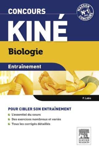 Entraînement Concours kiné Biologie