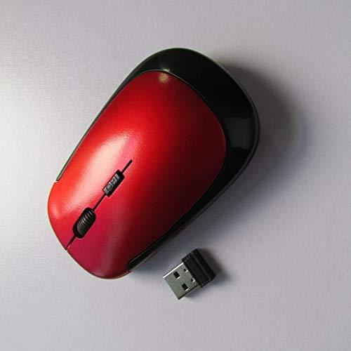 Banbie 3500 Mini kleine Photoelektrizitäts-Maus USB optischer drahtloser Computer-Mäuseempfänger Superschlanke Maus für PC Laptop -