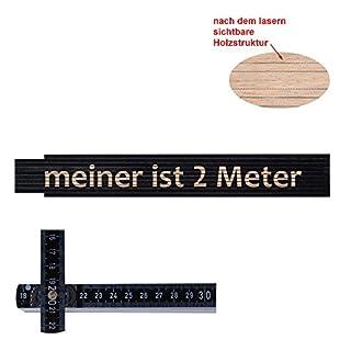 Zollstock/Meterstab meiner ist 2 Meter