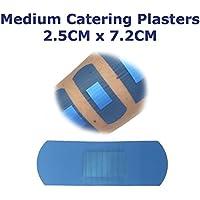 5Stück qualicare Premium Ultra Dünn Blau Catering First Aid Wound Schnitt Medium Pflaster, 2,5cm x 7,2cm preisvergleich bei billige-tabletten.eu