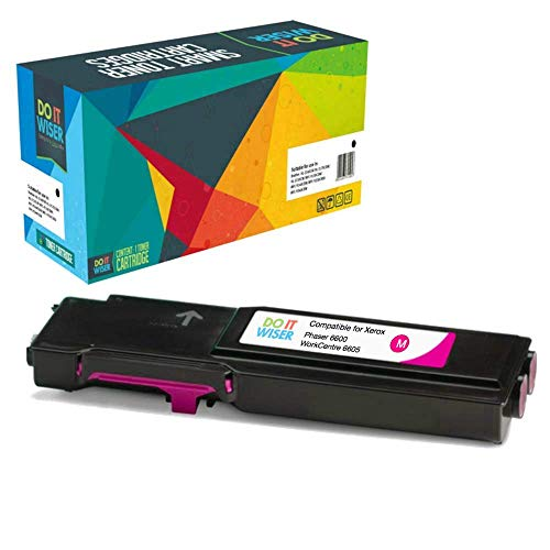 Do it Wiser ® Compatible XL Magenta Toner Cartridge for Xerox Phaser 6600  6600N 6600DN WorkCentre 6605 6605N 6605DN - 106R02230
