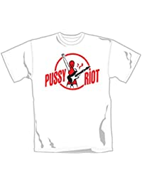 Pussy Émeute–Émeute permet–Produit sous licence officielle T-shirt pour homme