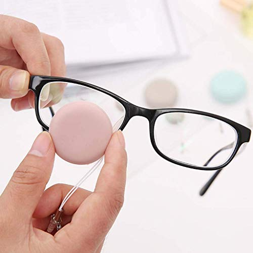 Vektenxi Premium-Qualität Brillen Sonnenbrillen Brillenreiniger Reinigungsbürste Wischtuch Kit Blau