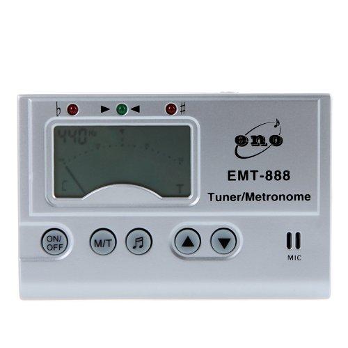 AMMOON 3 EN 1 LCD AUTOMATICO DIGITAL UNIVERSAL AFINADOR CROMATICO GENERADOR DE TONOS METRONOMO CON MICROFONO