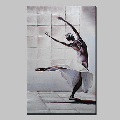 XGHC lager handgemachte Ballerina ?lgem?lde abstrakten nacktes M?dchen Dekor Wandmalereien Kunst f¨¹r Wohnzimmerrahmen nach Hause Whit , 24