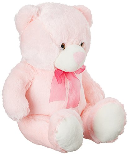 Dimpy Stuff Bear with Ribbon, Pink  available at amazon for Rs.456