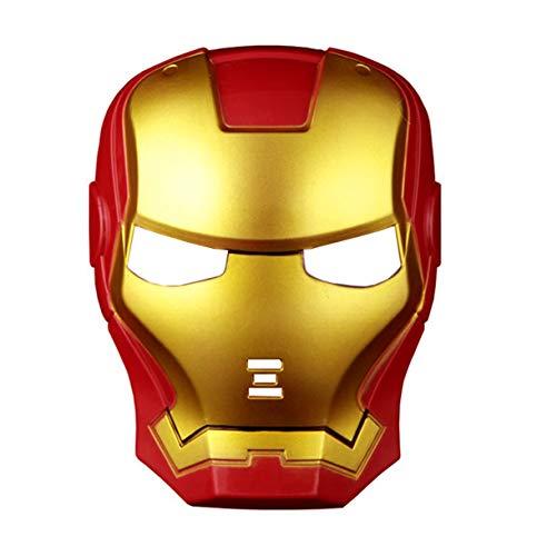 Máscara Iron Man SuperHéroe para Hombre Niño Talla única (52074)