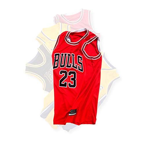 - Chicago Bulls # 23 heißer Druck atmungsaktiv kann angepasst Werden Männer und Frauen Basketball Uniform Klassische rote Fans Sportbekleidung (XS-XXL),XS ()