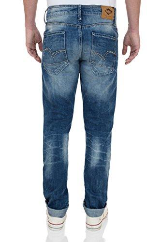 Lee Cooper Herren Straight Leg Jeanshose Blau - Light wash