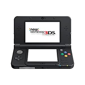 New Nintendo 3DS - handheld game console - black from Nintendo of Europe GmbH