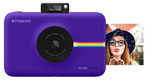 Polaroid - Fotocamera digitale a stampa istantanea Snap Touch, con schermo LCD...