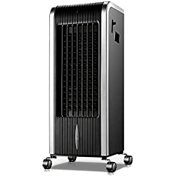 CQILONG-Climatiseur Portable Ventilateur Faible Bruit Anti Moustique Ventilateur for La Maison Et Le Bureau Glacière Mobile Surface Applicable Est De 30m2 (Color : Silver, Size : 26.5X32X73cm)