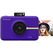 Polaroid SNAP Touch - Cámara digital con impresión instantánea y pantalla LCD (purpura) con tecnología Zero Zink