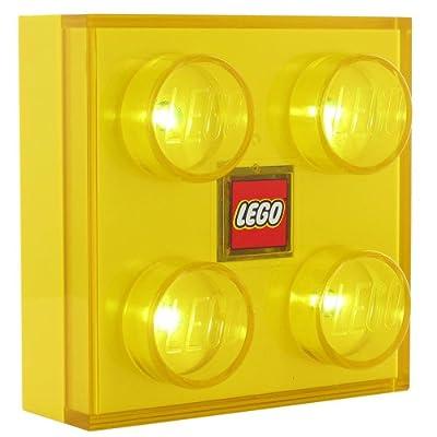Universal Trends UT80456 - Legostein Led Nachtlicht - gelb von Universal Trends bei Lampenhans.de