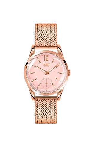 Henry London Damen Multi Zifferblatt Quarz Uhr mit Edelstahl Armband HL30-UM-0164