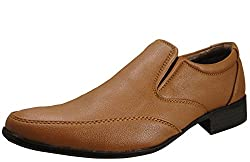 Action Synergy Mens Formal Shoes Tan UNS4509