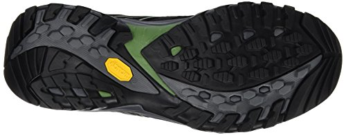 The North Face M Hedgehog Fastpack Gtx (Eu), Chaussures de Randonnée Homme Noir - Negro (TNF Black / Garden Green)