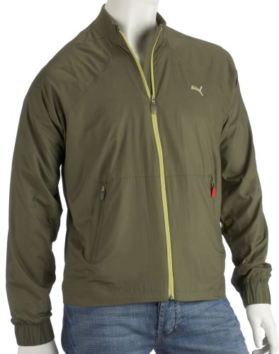 Puma Jacken Golf Packable Wind Jacket, grün,(Burnt Olive) XS