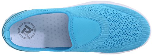 Propet TravelActiv Slip On Femmes Large Chaussure de Marche Pacific