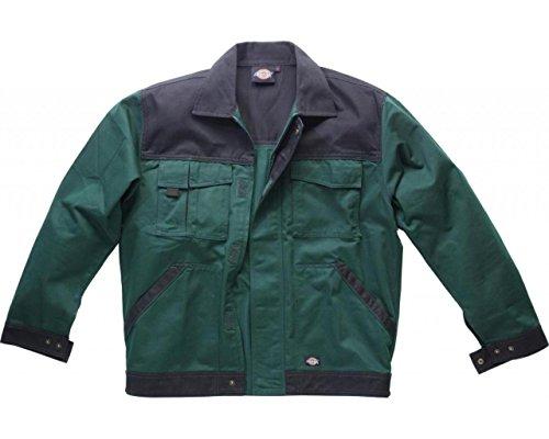 Preisvergleich Produktbild Dickies Bundjacke Industry 300 grün / schwarz GNB M,  IN30010