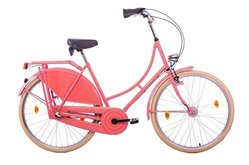 tretwerk DIREKT gute Räder Tulipo 28 Zoll Hollandrad, Damen-Fahrrad 3-Gang Nabenschaltung mit Rücktritt