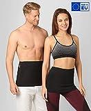 BeFit24 Cintura Lombare Elastica per Sport Traspirante di Alta Qualità per Donna e Uomo - Perfetta elastiche calda fascia per esercizi, Fitness, Corsa, Camminata, Sci - [ Size 6 ]
