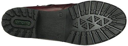 Remonte Damen R3332 Combat Boots Rot (Chianti/fumo/granit / 35)