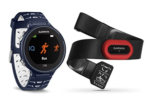 Garmin Forerunner 630 + HR Run2 630-Pack con Reloj y pulsómetro, Color Regular, Unisex, Azul, Talla única