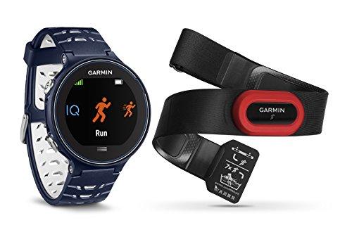 Garmin Forerunner 630 GPS-Laufuhr - inkl. Herzfrequenz-Brustgurt, bis 16 Std. Akkulaufzeit, Smart Notifications