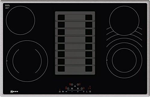 Neff TBD183AN / TBD183AN / Elektro-Kochstelle mit Abzug Kochfeld / Elektro / Einbau / 4 Heizelemente / 79,5 cm / CombiZone