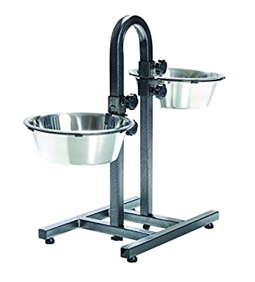 Trixie 2497 Dog Bowl Stand With Separate Height Adjustment 2 x 2.8 L / ø 24 cm by Trixie