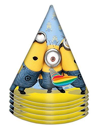 Minions Lovely Party Hüte (Dekorationen Despicable Geburtstag Me)