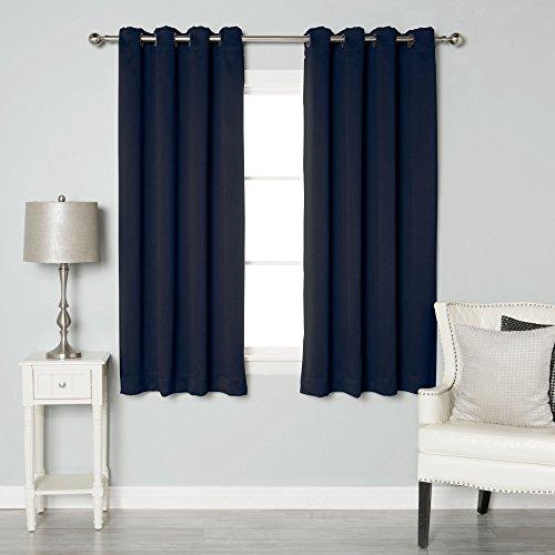 Navy Blue Curtains: Amazon.co.uk