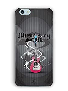 YuBingo Music is My Soul Mobile Case Back Cover for Apple iPhone 6S